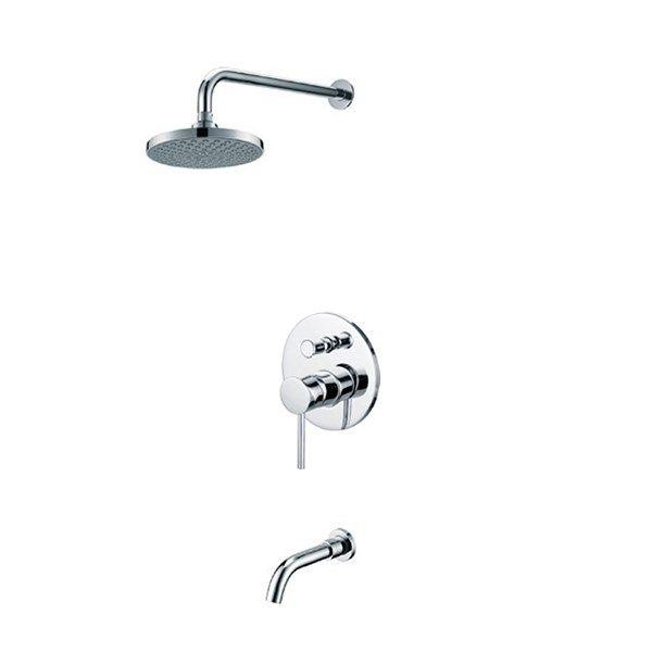 Kaiser Merkur 38118 Смеситель скрытого монтажа с верхним душем